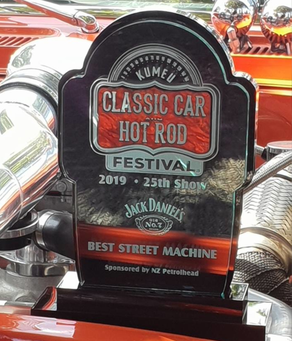 Kumeu Car Show 2019 Best Street Machine Award