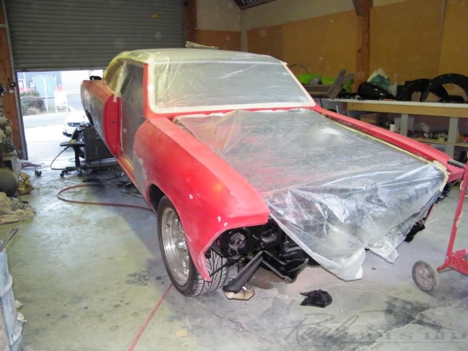 66 chevelle vehicle restoration before