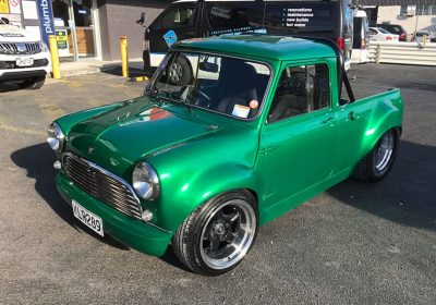 Real Rides Award Winning Custom V8 Austin Mini